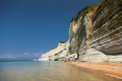 Corfu in Greece. Beautiful island Corfu in Greece Stock Images