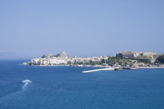 Corfu Greece Coastline Royalty Free Stock Images
