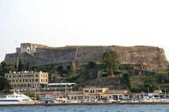 corfu greece ionian öhav Royaltyfri Bild