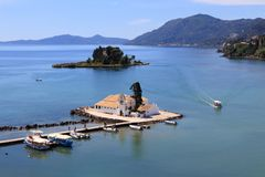 Corfu, Greece Royalty Free Stock Photography