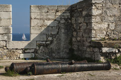 CORFU/GREECE  - Old Fortress Royalty Free Stock Photo