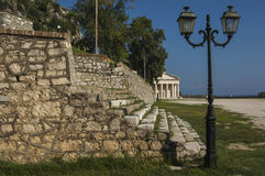 CORFU/GREECE Old Fortress Royalty Free Stock Photo
