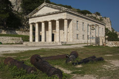 CORFU/GREECE Old Fortress Stock Image
