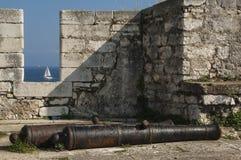 CORFU/GREECE - Vieille forteresse photo libre de droits