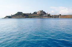 Corfu Harbour Stock Photo