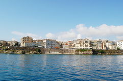 Corfu Harbour Stock Image