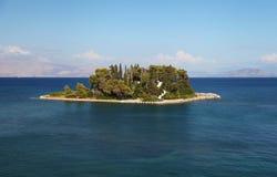 Corfu i Grekland royaltyfri fotografi