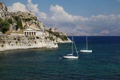 Corfu i Grekland royaltyfri bild