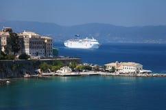 Corfu i Grekland royaltyfria bilder