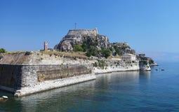 Corfu i Grekland arkivfoto