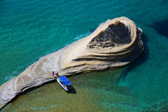 Corfu i Grekland arkivfoton