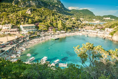 CORFU ISLAND, GREECE - August 10, 2014: Stock Photos