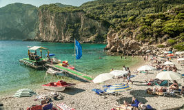 CORFU ISLAND, GREECE - August 10, 2014: Stock Photography