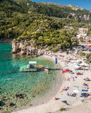 CORFU ISLAND, GREECE - August 10, 2014: Stock Image