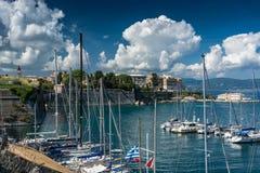 Corfu island in Greece Stock Images