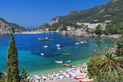 Corfu island in Greece Stock Photo
