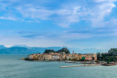 Corfu island Royalty Free Stock Photography