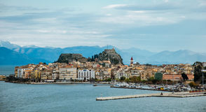 Corfu island Royalty Free Stock Photos