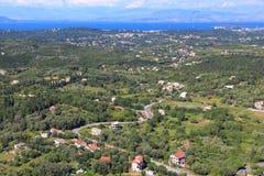 Corfu island landscape Stock Photo