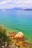 Corfu island shore cruise Greece Royalty Free Stock Photo