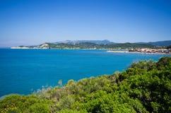 On Corfu island during the summer, Greece Stock Photo