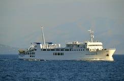 Corfu Kerkyra Express ferry Stock Images