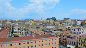 Corfu Kerkyra town sight Stock Images