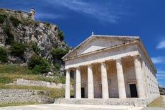 Corfu landmark Royalty Free Stock Photography