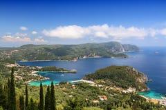 Corfu landscape Royalty Free Stock Photos