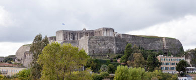 Corfu New Fortress panorama Royalty Free Stock Photo