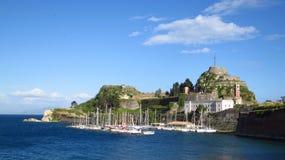 Corfu New Fortress Royalty Free Stock Photo