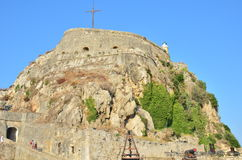 Corfu old fortress pictures - Corfu castle Stock Photos