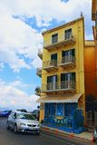 Corfu Old town street Greece Royalty Free Stock Images