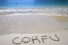Corfu wyspa Obrazy Royalty Free