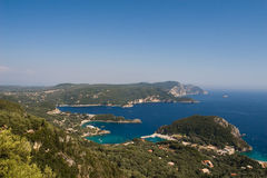 Corfu shore Stock Images