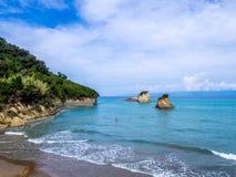 Corfu - Sidari beach Stock Image