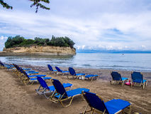Corfu - Sidari beach Stock Photos