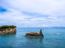 Corfu - Sidari coastline Stock Photo