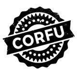 Corfu stamp rubber grunge Royalty Free Stock Image