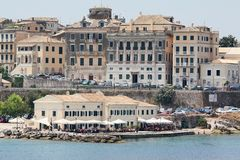 Corfu town Royalty Free Stock Image