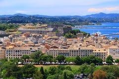 Corfu Town Stock Photo