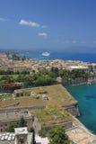 Corfu town Royalty Free Stock Photo