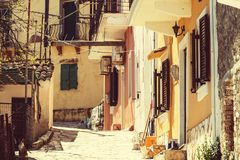 Corfu town Stock Images
