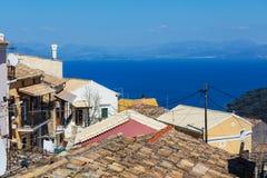 Corfu town Royalty Free Stock Image
