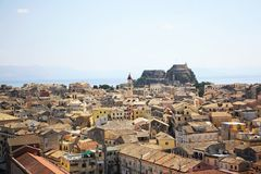 Corfu Town, Greece Stock Images