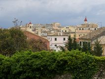 Corfu Town Greece Royalty Free Stock Images