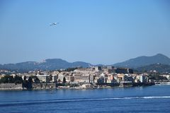 Corfu Town Royalty Free Stock Images