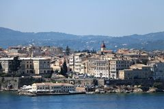 Corfu Town Royalty Free Stock Photography