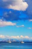 Corfu Town seascape Stock Photo