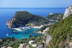 Corfu w Grecja Fotografia Royalty Free